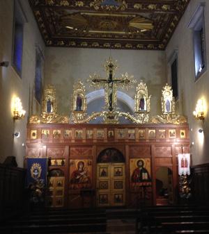 chiesa greci uniti altare