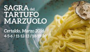 23esima Sagra Del Tartufo Marzuolo A Certaldo. Marzo 2016