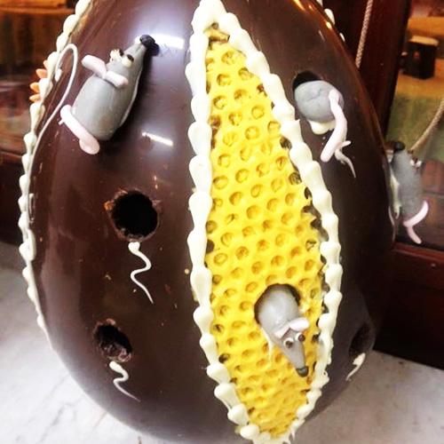 Uovo Fondente Gfrande Decorato