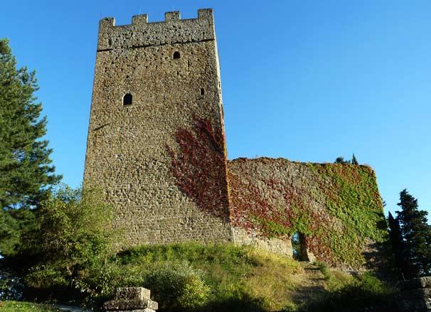 Il Castello Di Porciano A Pratovecchio Stia, Arezzo