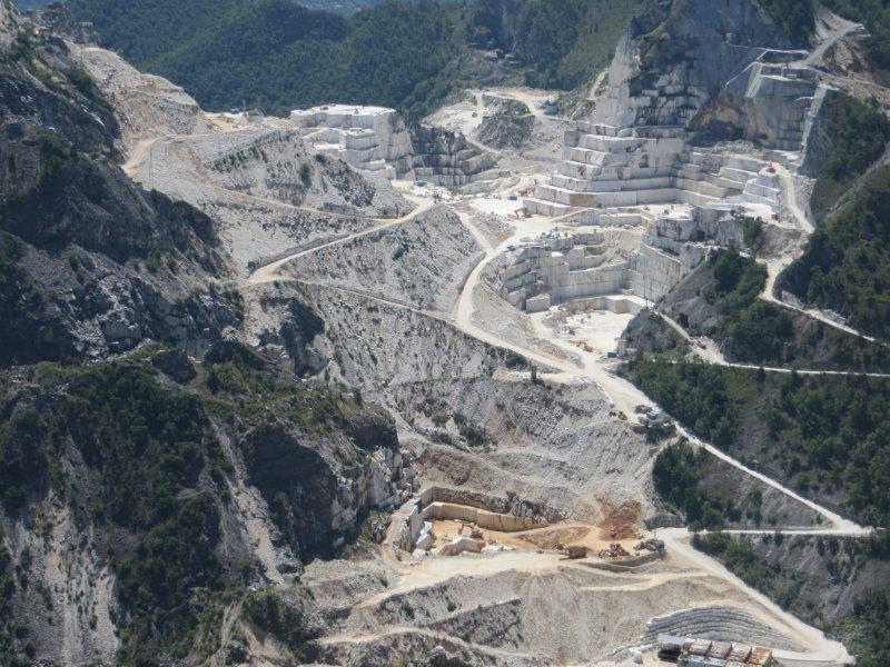 Cave Di Marmo Di Carrara Silvia Rogai