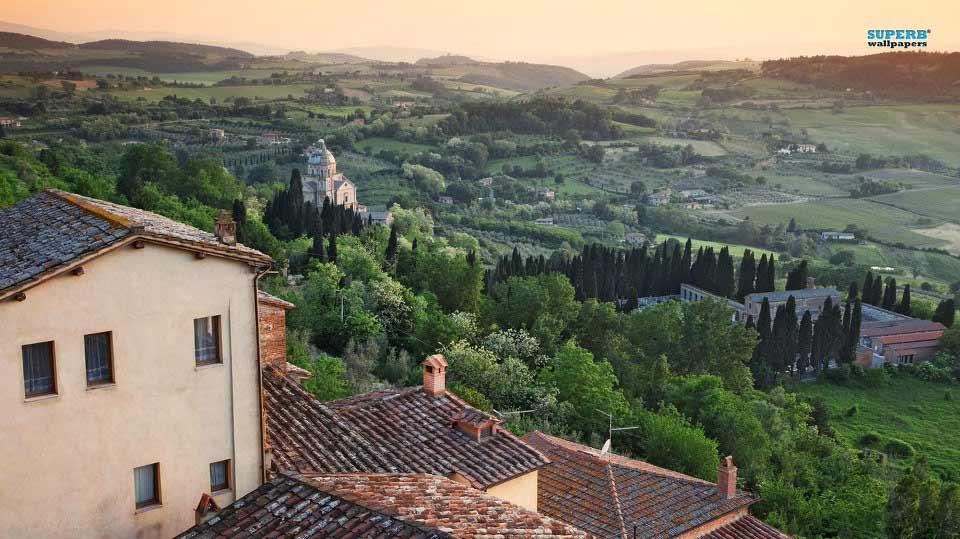 Montepulciano e le colline