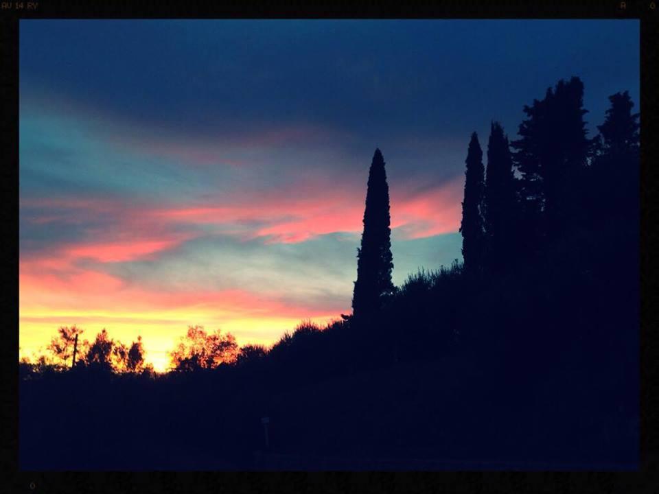 Tramonto Monteriggioni Foto Di Nicola Micheli