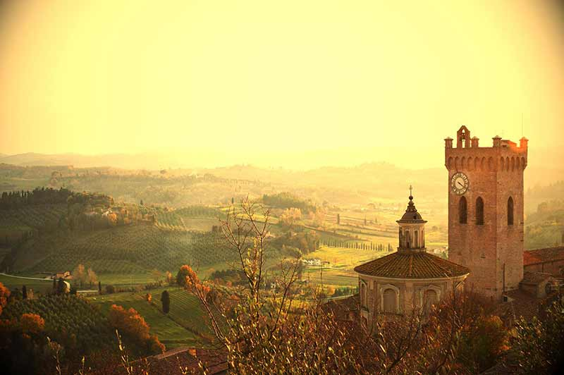Colline Toscane. Foto Di Roberto De Lorenzo