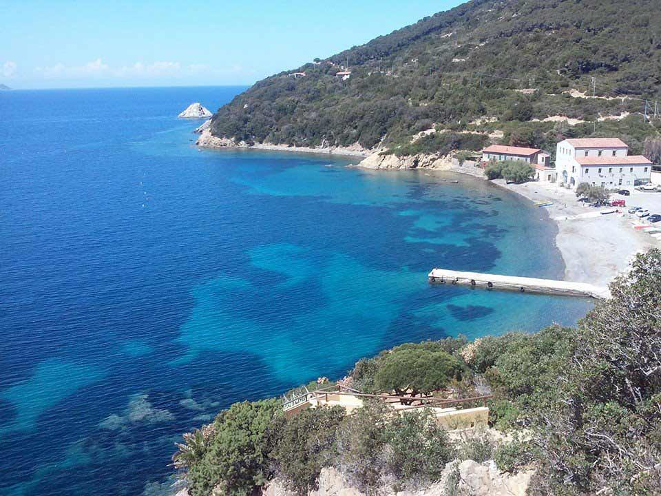 Isola s'Elba spiagge. Enfola