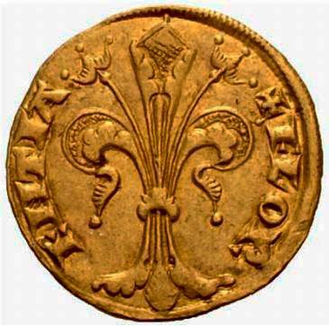 Monete Medievali Fiorino D'oro
