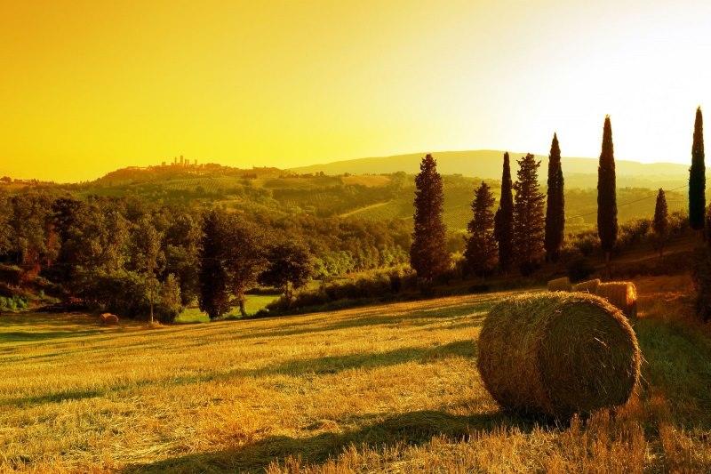 Tramondo Su San Gimignano