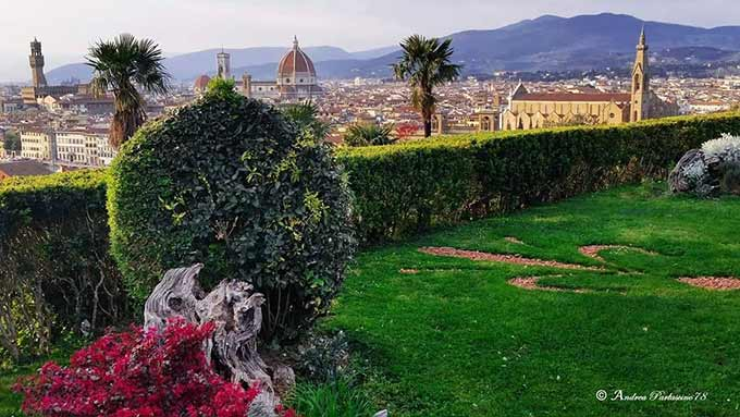View Of Florence, Andrea Parlascino Photo