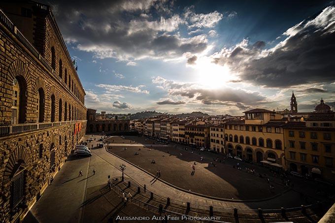 Piazza-Pitti-vista-da-una-delle-terrazze-di-Palazzo-Pitti-a-Firenze-di-Alessandro-Alex-Fibbi