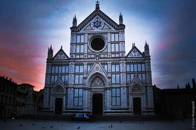 Piazza Santa Croce Florence, Lucia Ph Romagnoli Photo