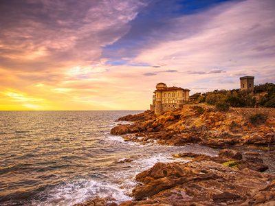 Castello Del Boccale, Tramonto Sul Mare