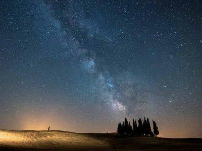 Cielo Stellato, Foto Di Riccardo Nannetti