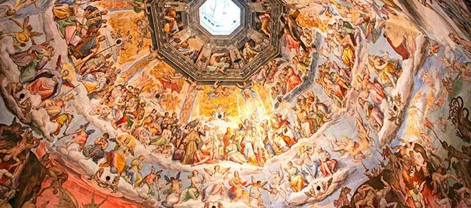 Cupola Del Brunelleschi Painting, Florence Cathedral