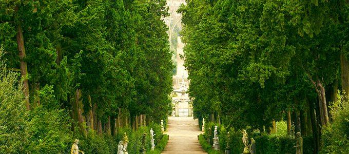 Palazzo Pitti E Il Giardino Di Boboli