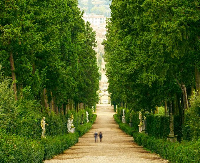 Palazzo pitti e giardino di boboli vivere la toscana for Giardino firenze