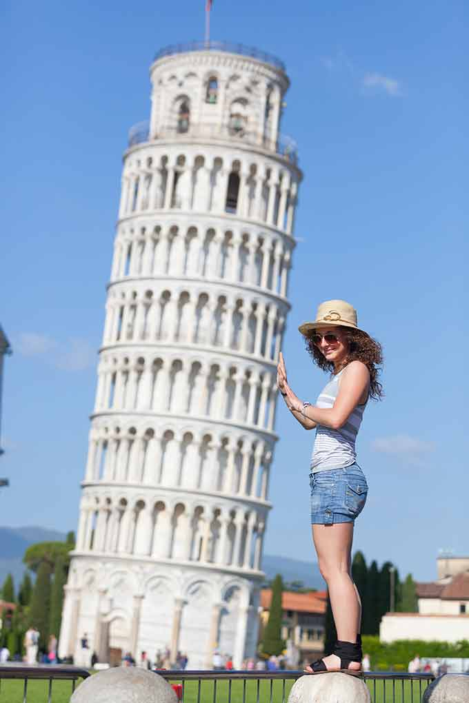 La Torre Pendente, Pisa