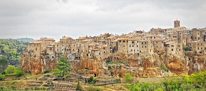 Pitigliano, Town In Province Of Grosseto