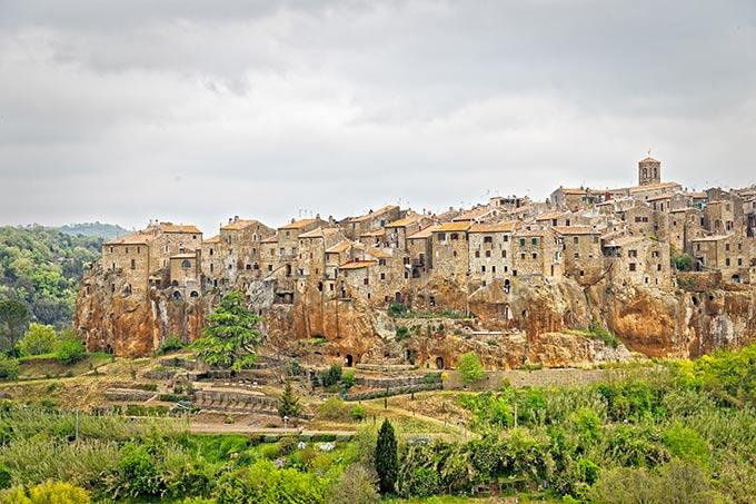Pitigliano-Toscana