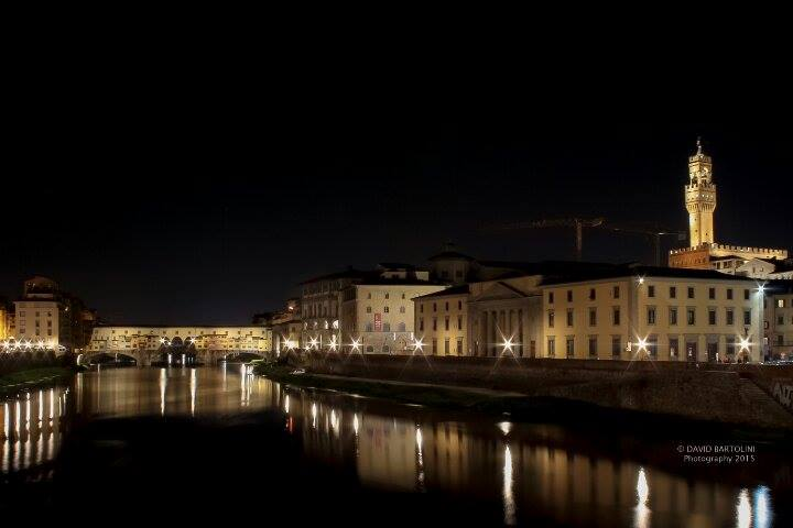Ponte Vecchio A Firenze Palazzo Della Signoria Di David Bartolini