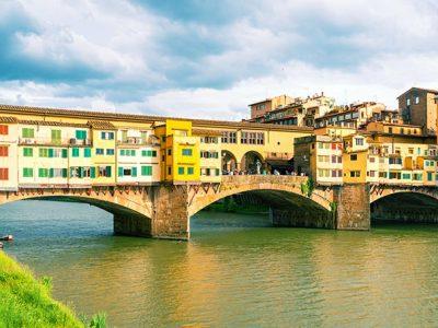 Ponte Vecchio Sul Fiume Arno, Firenze