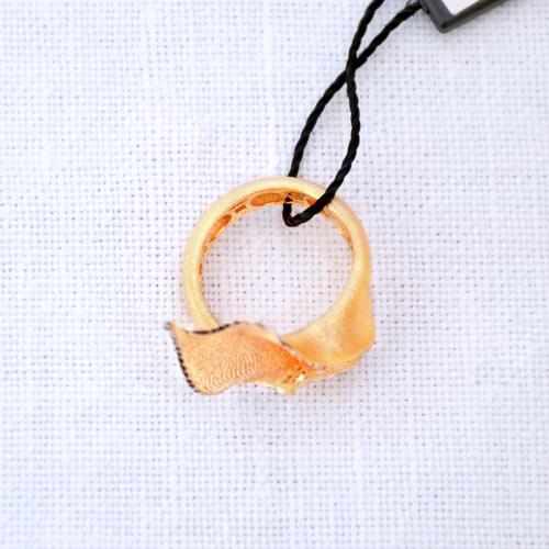 Anello In Oro A Forma Di Calla (3)
