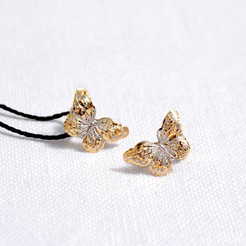 Orecchini In Oro A Forma Di Farfalla (1)