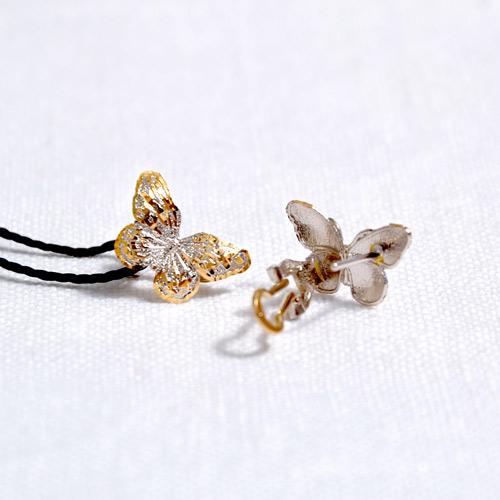 Orecchini In Oro A Forma Di Farfalla (4)