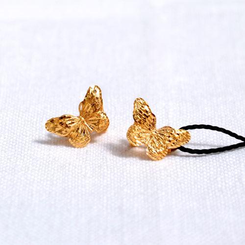 Orecchini In Oro A Forma Di Farfalla (6)