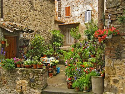 Anghiari, Suggestivo Borgo Storico In Provincia Di Arezzo