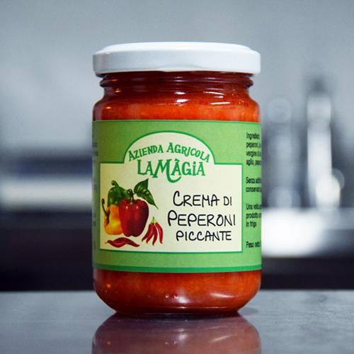 Crema Peperoni Piccante