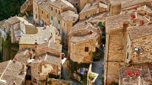 Sorano, La Matera Della Toscana