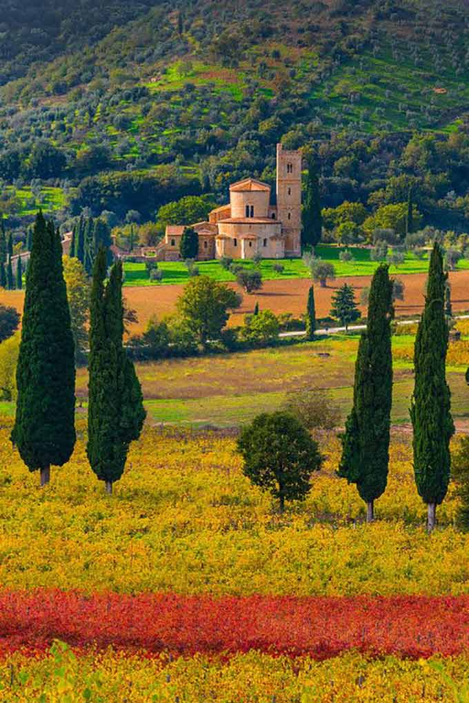 Val D'orcia Di Kevinmcnealphotography
