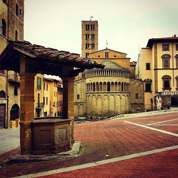Arezzo, Suggestive Town In Tuscany