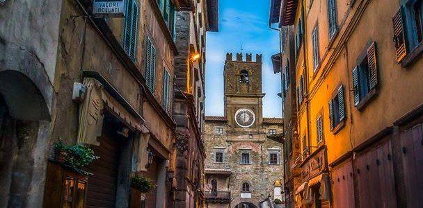 Cortona, Borgo Medievale Nella Valdichiana