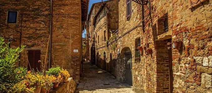 Colle Di Val D'Elsa E La Sua Splendida Vista Sulla Toscana