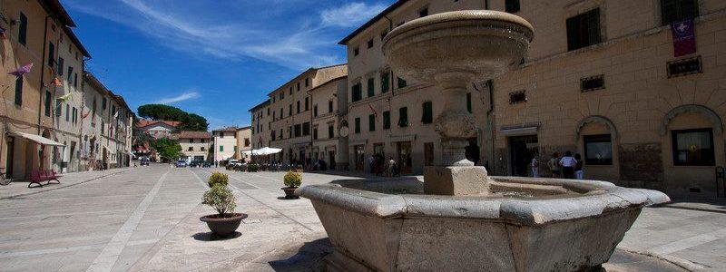 Cetona, Medieval Town In Province Of Siena