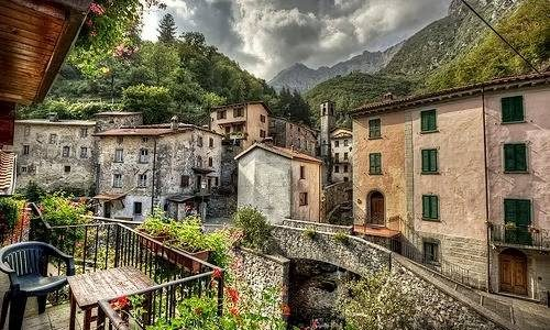 Fornovolasco, Little Town In Garfagnana