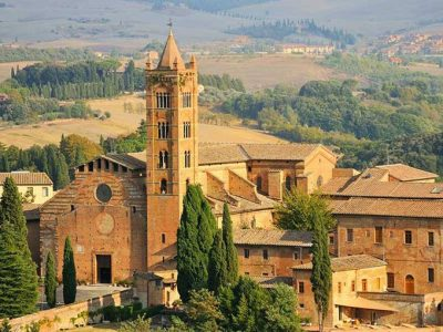 Basilica Di San Clemente In Santa Maria Dei Servi, Siena. Foto Di Italiait