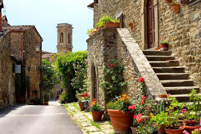 Volpaia, Medieval Town In Chianti