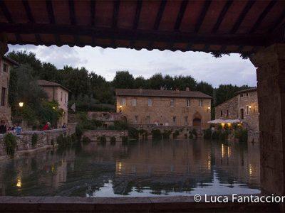 Bagno Vignoni, Foto Di LUCA FANTACCIONE