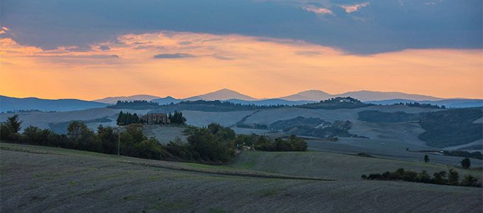 Pienza, Photo By LUCA FANTACCIONE