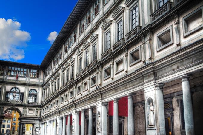 Gli Uffizi, La Storia