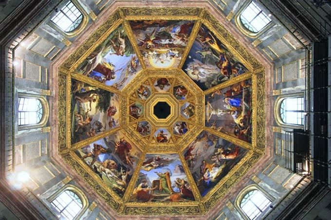 Vista-interna-Cappelle-Medicee-Firenze
