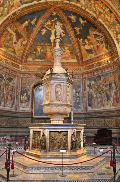 Scopri il Battistero di San Giovanni a Siena!