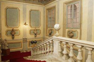 La Scalinata del Palazzo Sansedoni di Siena