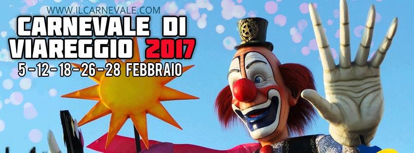 Festeggia Insieme A Noi Il Carnevale Di Viareggio 2017