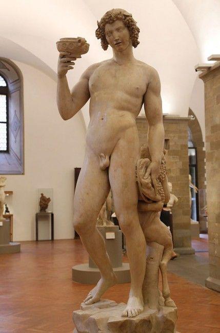 Una delle sculture esposte al Museo Nazionale del Bargello